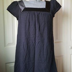 Tiana B. Black Dress Cap Sleeved with Pockets